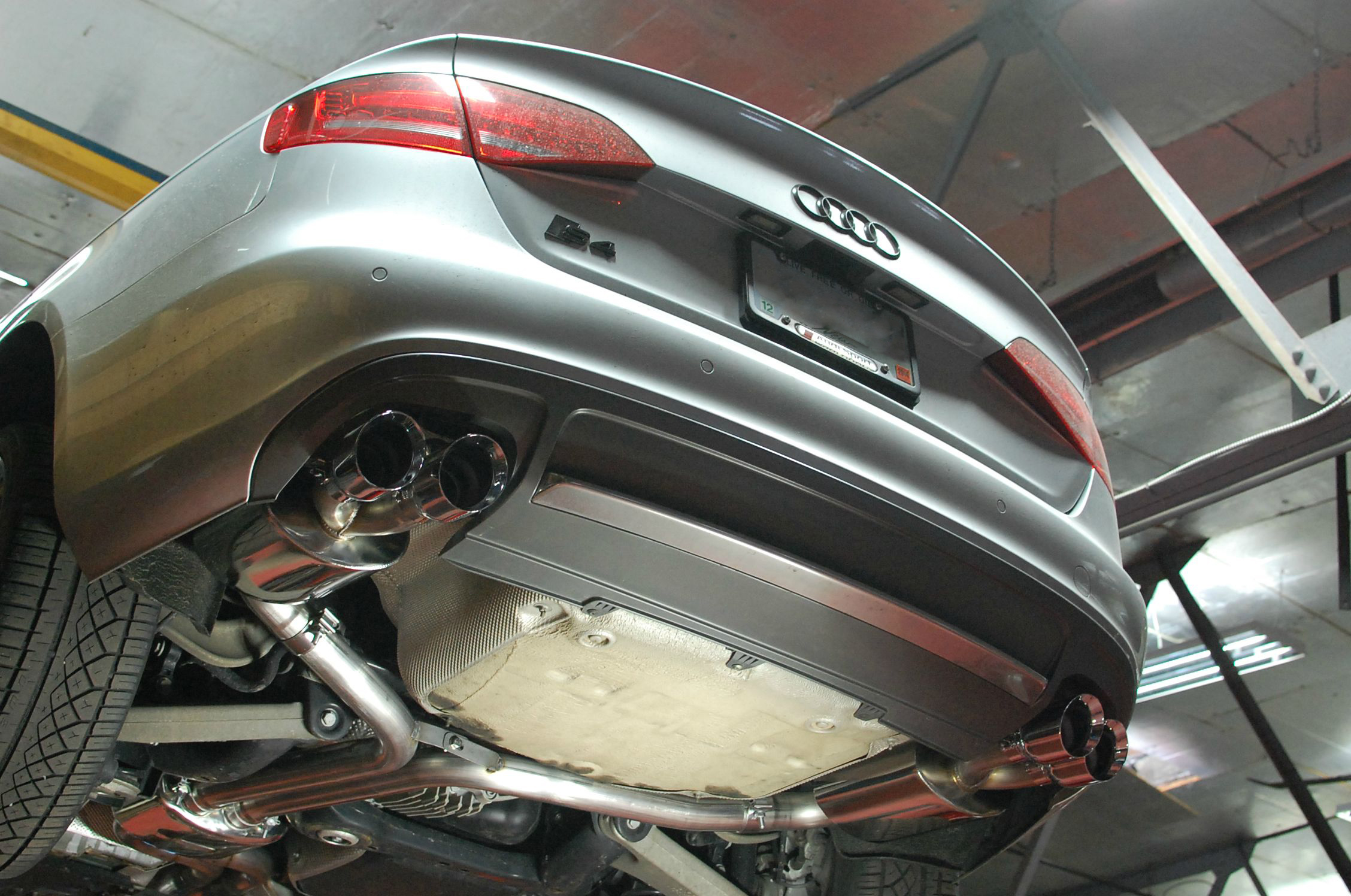 B8 S4 AWE Exhaust - Speedlife Motorsport